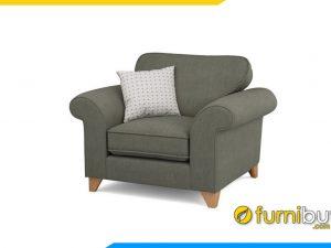 Ghế sofa đơn chất liệu nỉ hiện đại FB20028