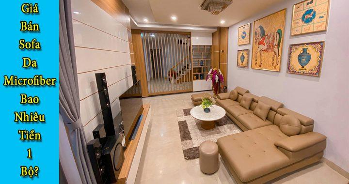 Ghế sofa da microfibeer có giá bán bao nhiêu